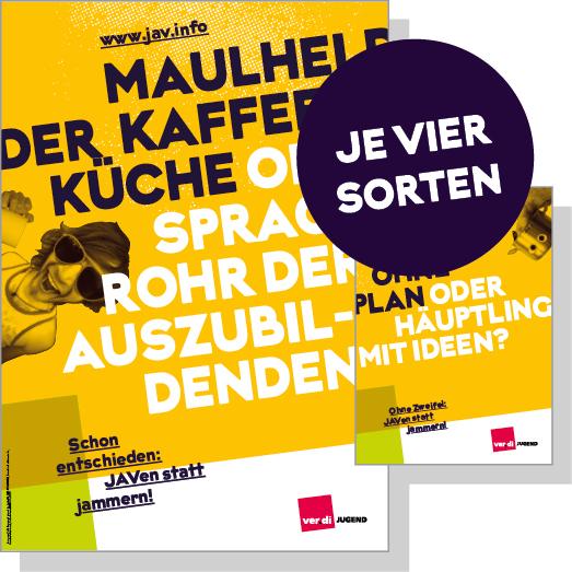Plakat- und Postkartenserie