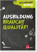 Plakatserie zur Ausbildungsqualität